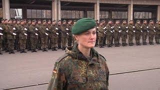 Protokollsoldat aus Leidenschaft - Zugführerin im Wachbataillon der Bundeswehr