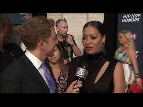 On the Pink Carpet at the VH1 Hip Hop Honors
