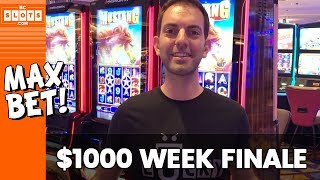 🐴 Mustang Finale + GIVEAWAY! 💰 $1000 @ Hard Rock AC #AD ✪ BCSlots (S. 1 • Ep. 5)