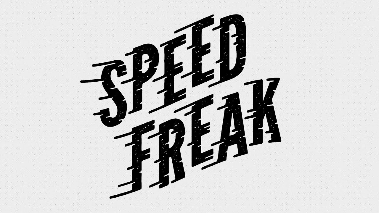 How To Create a Speed Lines Type Effect in Adobe