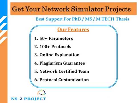 NS2 NS3 PROJECTS
