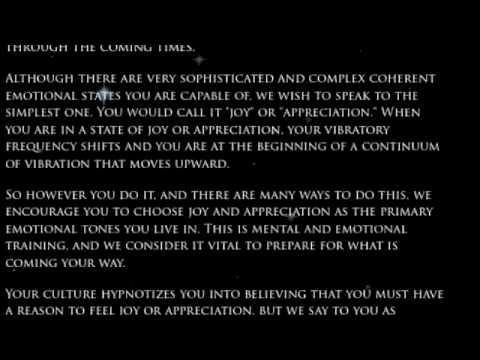 A Hathor Planetary Message Through Tom Kenyon Pt1 - Oktober 08, 2009