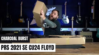 Unboxing The New 2021 PRS SE Custom 24 Floyd In Charcoal Burst