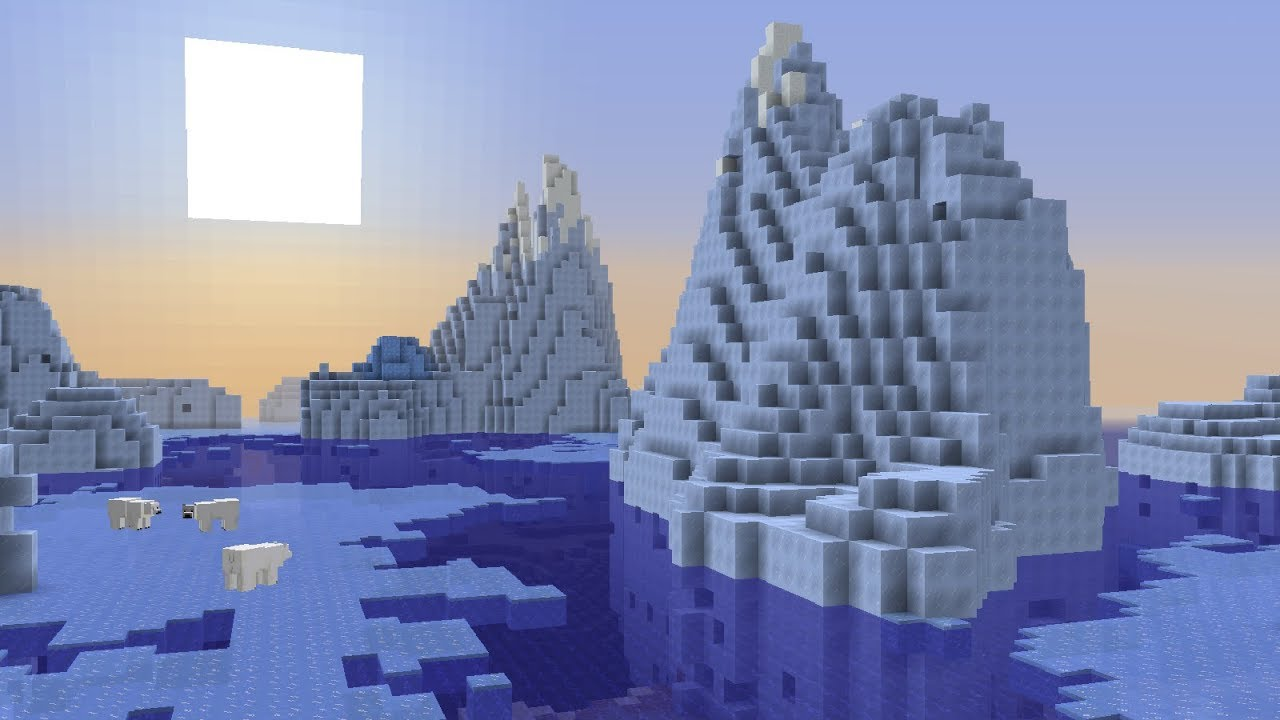 New Icebergs Blue Ice In Minecraft Snapshot 18w15a Youtube Information about the blue ice block from minecraft, including its item id, spawn commands, crafting recipe and more. new icebergs blue ice in minecraft snapshot 18w15a