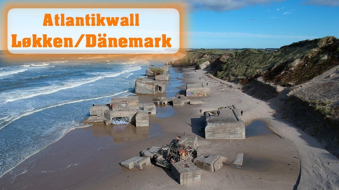 Bunker Atlantikwall Karte.Die Bunker Von Lokken Furreby In Danemark