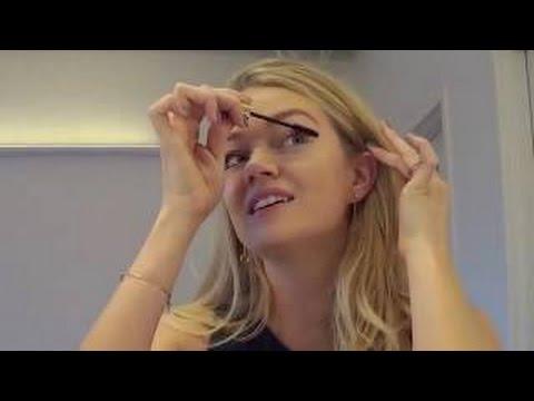 Lindsay Ellingson sexy holiday makeup look!