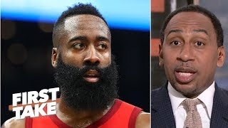 James Harden would get my MVP vote over Giannis - Stephen A. | First Take