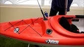 Pelican Bounty 100 Kayak mods - YouTube