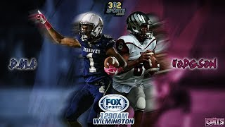 Hodgson visits DMA 302Sports/Fox Sports Game of the Week LIVE from Baynard Stadium