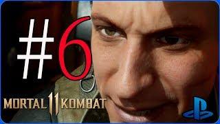 Mortal Kombat 11 |  Modo Historia |  Español Latino |  Capítulo 6 | Johnny Cage | PlayStation 4