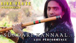 Sundari kannaal oru seidhi flute performence by rajesh cherthala | meme joker
