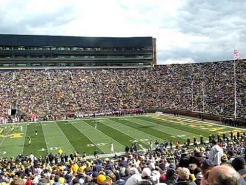 The Wave at Michigan Stadium (The Big House)