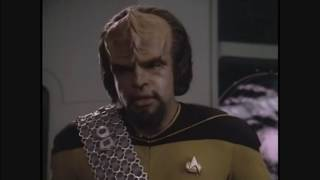"SF Debris skit  - Worf's ""Honor"" and ""Courage"""