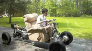 Building Of The Crazyboy- A Motorcycle Powered Recliner