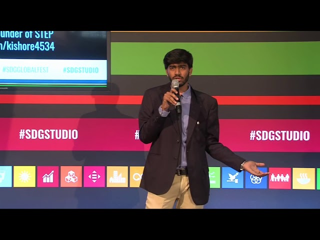 SDG Action Talk: Transformation - How to go from no concern about the world to SDG change-maker
