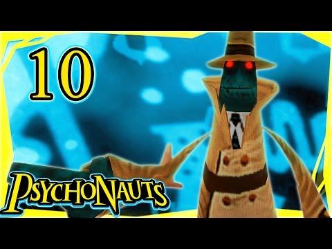 Let's Play Psychonauts Part 10 - Milkman Conspiracy [Gameplay/Walkthrough]