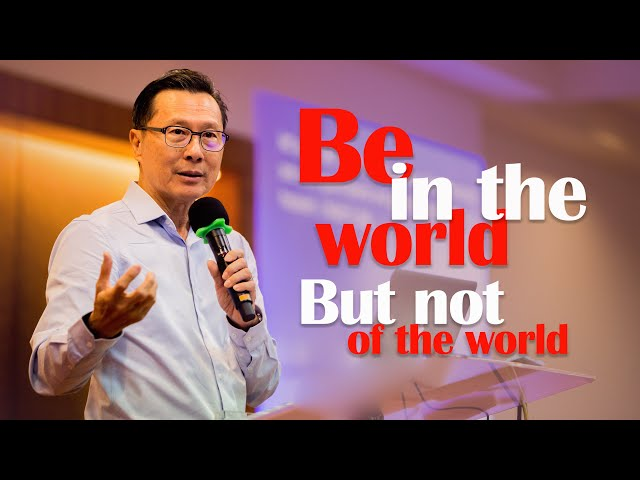 Dr. Nehemiah: Be in the world not of the world