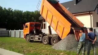 видео Щебень гранитный за куб с доставкой