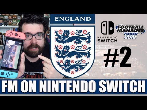 Football Manager on Nintendo Switch | Part 2 | The World Cup | First Look & Review