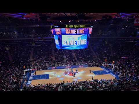 New York Knicks 2018-2019 Intro (vs. Boston Celtics)