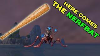 World of Warcraft LEGION: Waterstriders Nerfed !!
