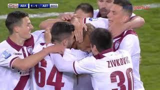 26η ΑΓ. ΑΕΛ-Αστέρας Τρίπολης 2-1 (HL)