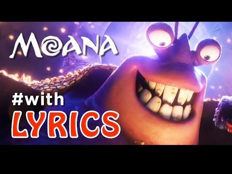 """MOANA Song """"Shiny"""" With LYRICS"""