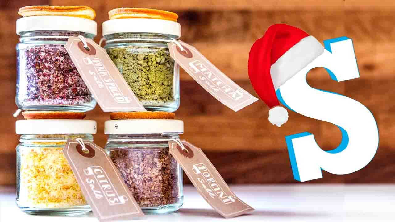 flavoured salts recipe diy christmas food gifts youtube