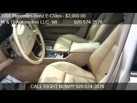1998 Mercedes-Benz E-Class E320 AWD - for sale in Appleton,