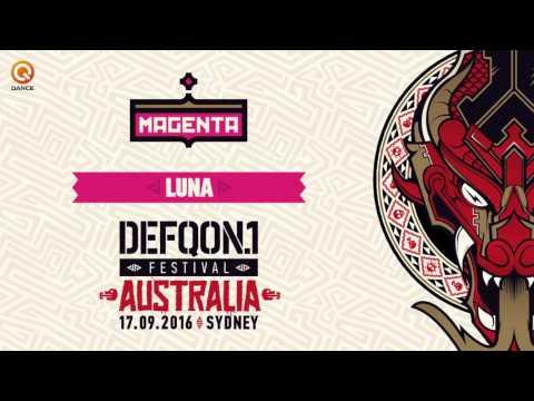The colours of Defqon.1 Australia 2016   MAGENTA mix by Luna