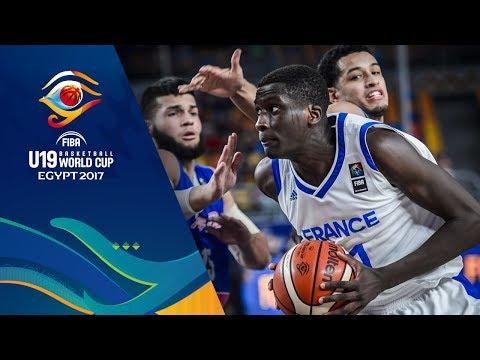 France v Puerto Rico - Full Game - Round of 16 - FIBA U19 Basketball World Cup 2017