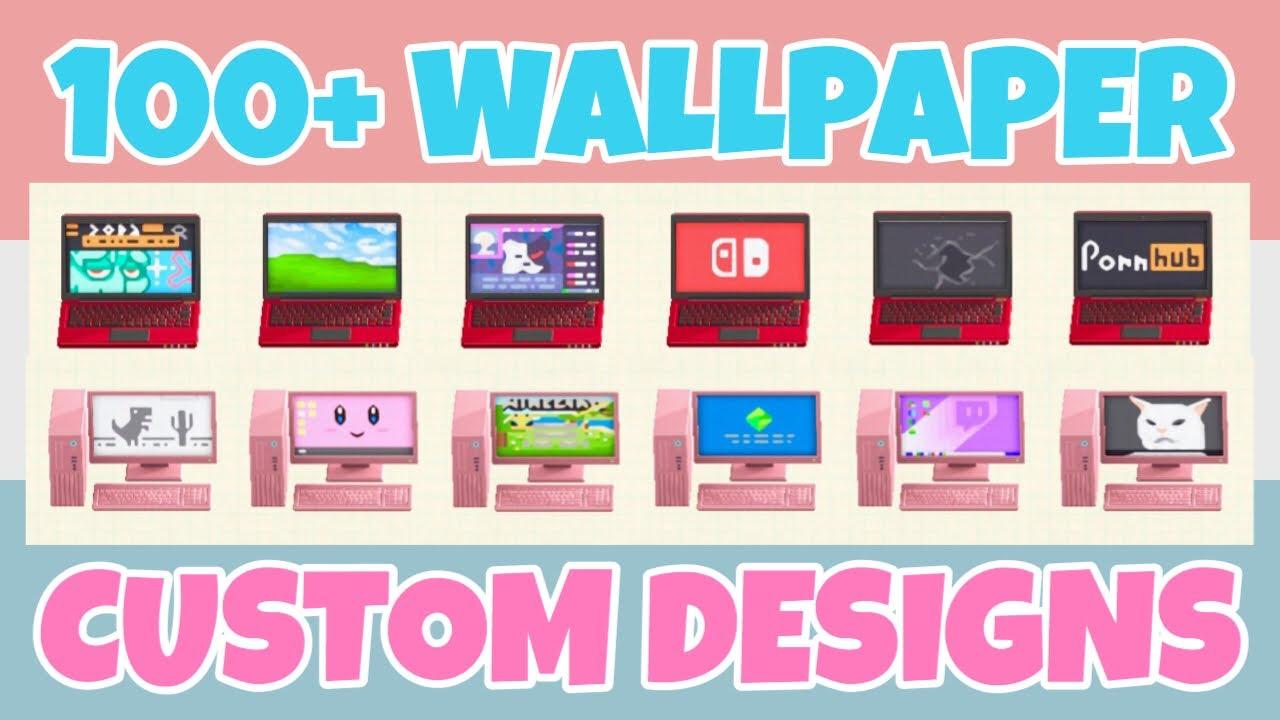 animal crossing new horizons wallpaper designs codes