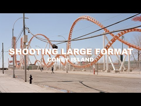Shooting 4x5 Large Format Landscapes in Coney Island