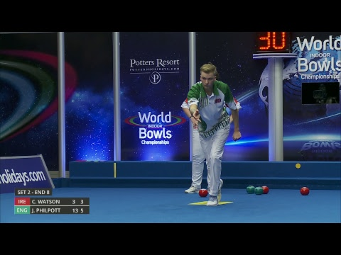 Just. 2019 World Indoor Bowls Championships: Day 16 Session 1