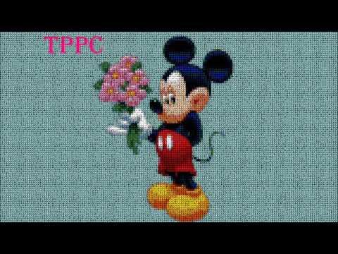 Patrones Exclusivos Mickey Minnie Mouse I | Patrones Exclusivos Punto De Cruz