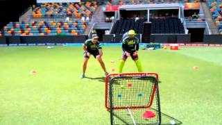 Umar Akmal uses Crazy Catch for wicket keeping drills - Cricket Direct