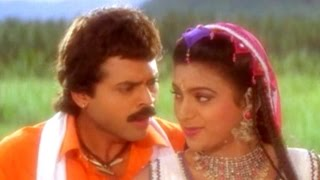 Kalaga Vachinavu Video Song    Pokiri Raja Movie    Venkatesh, Roja, Prathibha Sinha