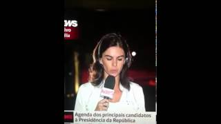Repórter e apresentadora da GloboNews se desentendem e cometem gafe ao vivo