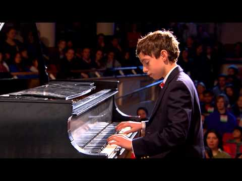 Chopin Etude Op.10 No.5 In G Flat Major (Black Key): Blake Frank at TEDxYouth@BeaconStreet