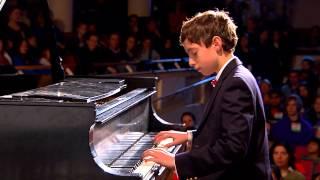 Chopin Etude Op.10 No.5 In G Flat Major (Black Key): Blake Frank at TEDxYouth@BeaconStreet