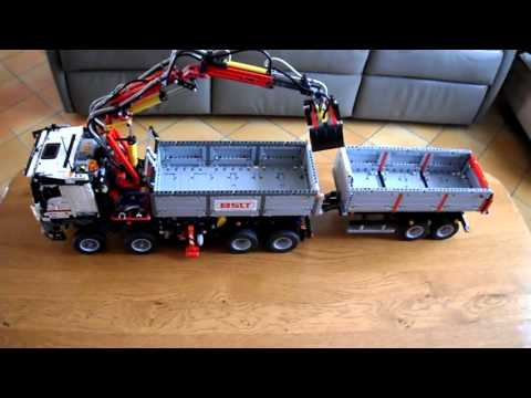 lego technic 42043 - youtube