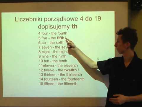 angielski liczebniki wymowa