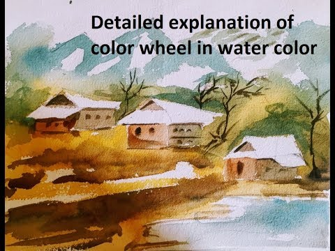 Study of the colours and colour wheels Mp3