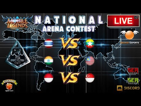 [Mobile Legends] National Arena Contest 🔘 LIVE | Malaysia