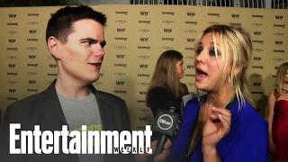 Bing Bang Theory: Kaley Cuoco At The Emmy Party 2010 | Entertainment Weekly