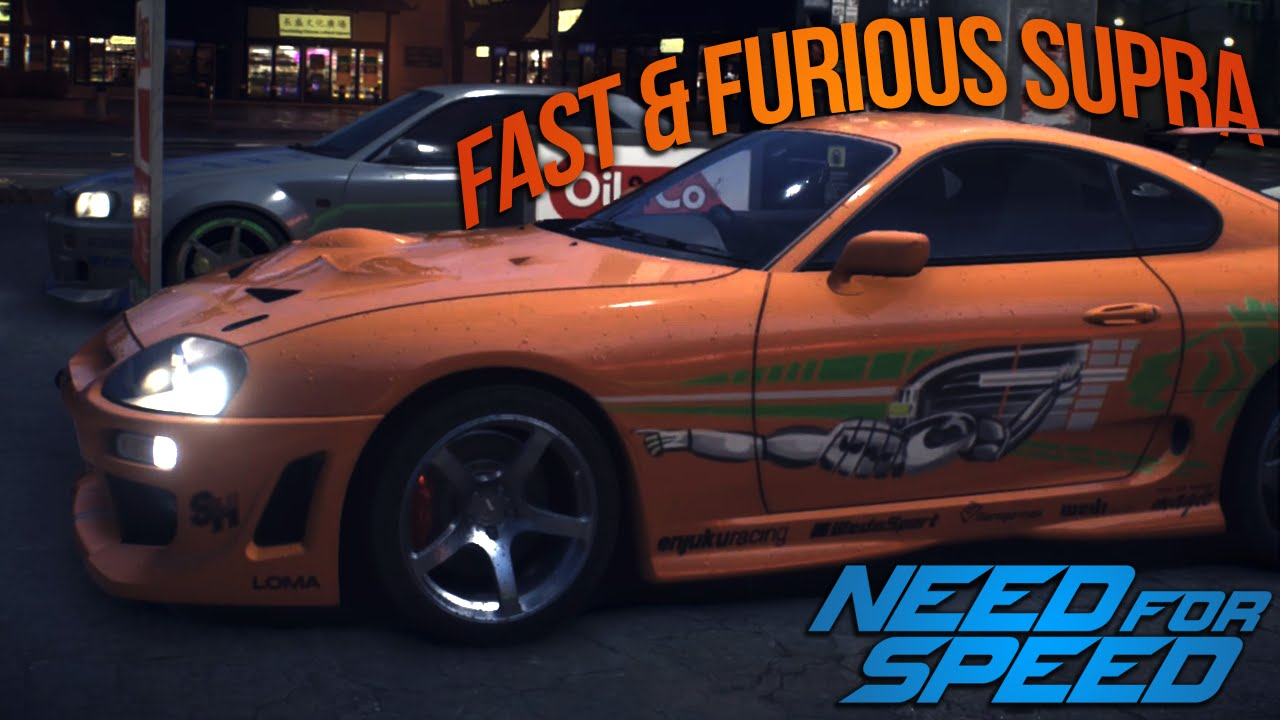 Need for Speed 2015 FAST AND FURIOUS DRIFT SUPRA! (NFS Showcase ...