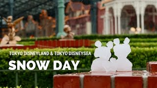 Snow Day 2016 at Tokyo Disneyland & Tokyo DisneySea