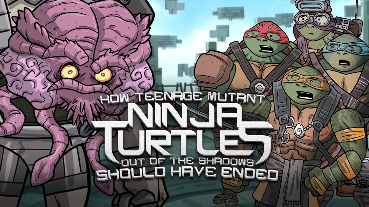 How Teenage Mutant Ninja Turtles Out Of The Shadows Should Have Ended Youtube