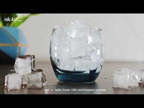 Hai Au Pure Ice Maker Provides Pure Clean Ice Cubes with the High Standard of the Ministry of Health