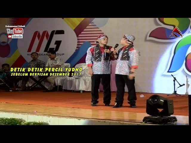 Detik Detik Percil Yudho Sebelum Berpisah Desember 2017